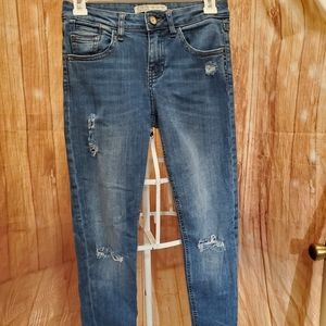 Zara Z1975 Distressed Jeans  Sz 2